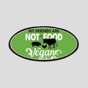 Not Food Vegan Patch