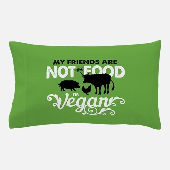 Not Food Vegan Pillow Case