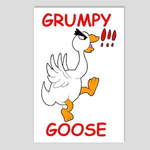 Grumpy Goose Postcards (Package of 8)