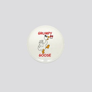 Grumpy Goose Mini Button