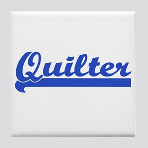 Quilter - I Quilt Tile Coaster