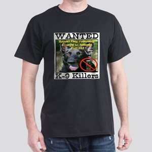 Wanted K-9 Killers Dark T-Shirt