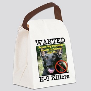 Wanted K-9 Killers Canvas Lunch Bag