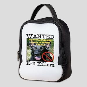 Wanted K-9 Killers Neoprene Lunch Bag
