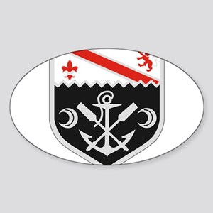 1st Engineer Combat Bn Sticker