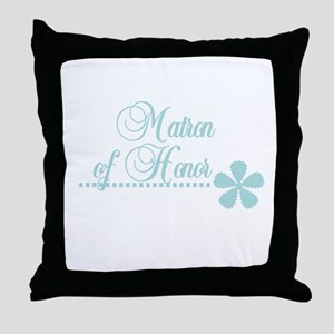 Matron of Honor Throw Pillow