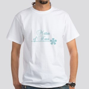 Matron of Honor White T-Shirt