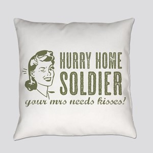 Hurry Home Soldier Everyday Pillow