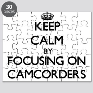 Keep Calm by focusing on Camcorders Puzzle