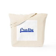 Crafty - I Love Crafts Tote Bag
