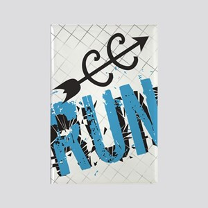 Grunge Run Cross Country Magnets