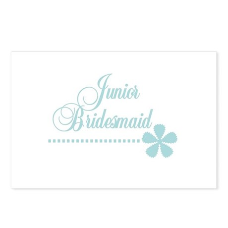 Jr. Bridesmaid Elegance Postcards (Package of 8)