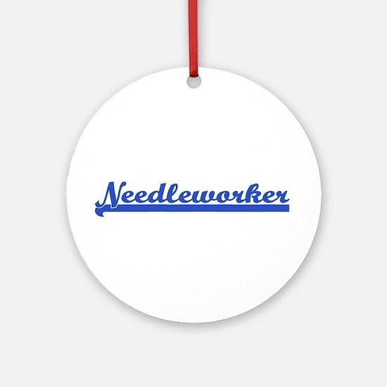 Needleworker Ornament (Round)