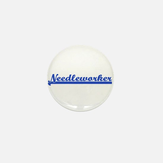 Needleworker Mini Button