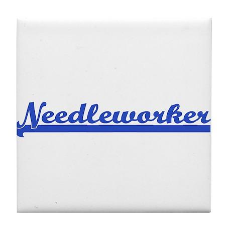 Needleworker Tile Coaster
