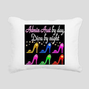 ADMIN ASST Rectangular Canvas Pillow