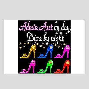 ADMIN ASST Postcards (Package of 8)