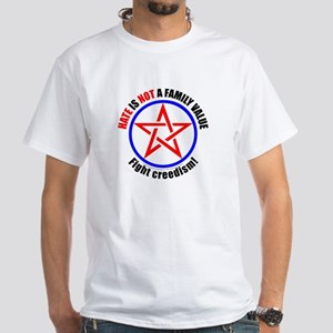 Hate Not White T-Shirt