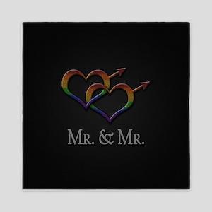 Mr. and Mr. Queen Duvet