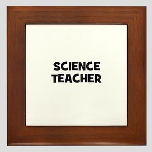 Science Teacher Framed Tile