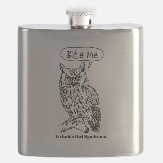 IRRITABLE OWL Flask