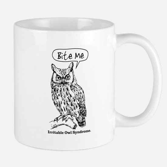 IRRITABLE OWL Mug