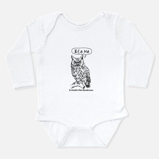 IRRITABLE OWL Long Sleeve Infant Bodysuit