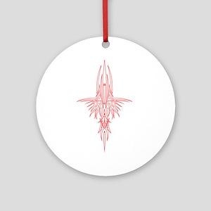 Pinstripe II Ornament (Round)