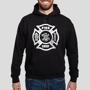 Firefighter Fire Chief Hoodie (dark)