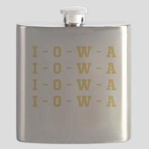I O W A Flask