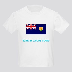 Turks & Caicos Island Flag Classic Blu T-Shirt