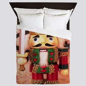 Holiday Nutcracker Queen Duvet