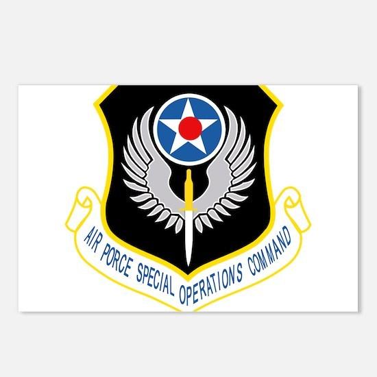 AFSOC USAF.png Postcards (Package of 8)