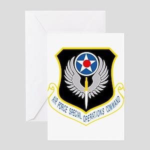AFSOC USAF Greeting Cards