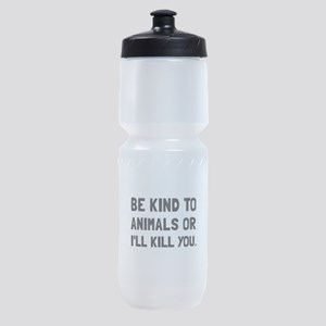 Kind To Animals Sports Bottle