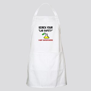 Lab Safety Superpowers Apron