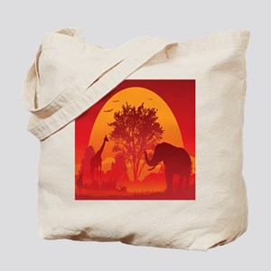 African Savanna Tote Bag