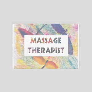 Massage Therapist 4' X 6' Rug