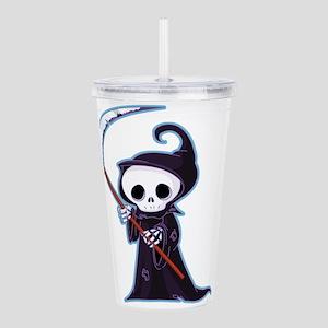 Cute Little Death Acrylic Double-wall Tumbler