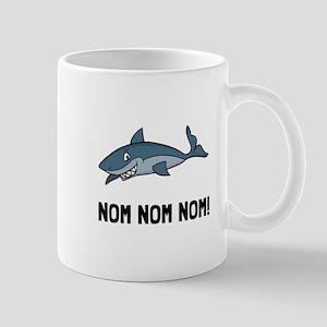 Sharks Nom Nom Nom Mugs
