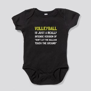 Volleyball Balloon Baby Bodysuit