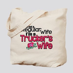 Not a Regular Wife - Trucker's Wife Tote Bag