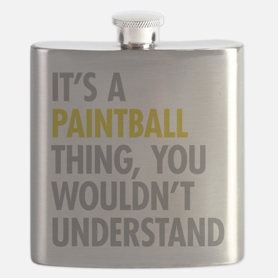 Its A Paintball Thing Flask
