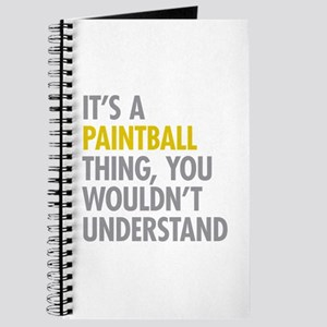 Its A Paintball Thing Journal