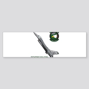 F-16_falcon_fighting Bumper Sticker