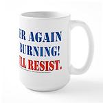 Resist! Large Mug