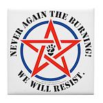 Resist! Tile Coaster
