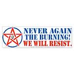 Resist! Bumper Sticker