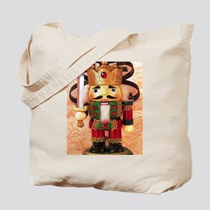 Holiday Nutcracker Tote Bag