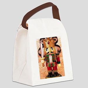 Holiday Nutcracker Canvas Lunch Bag